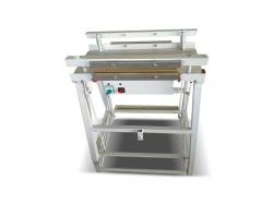 Çift Taraflı Ayaklı Poşet Ağzı Kapatma ve Sıcak Çene Kapatma Makinası